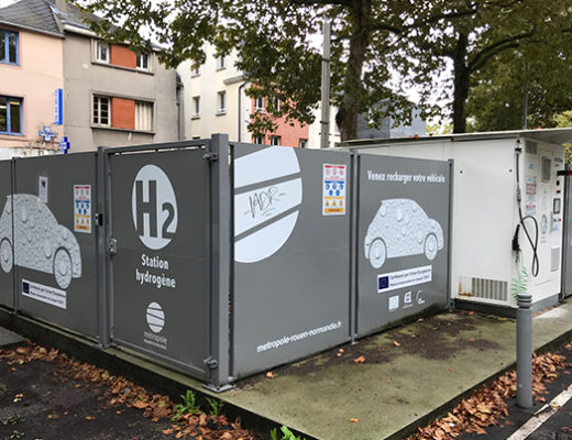 La Normandie veut s'installer comme un pionnier du véhicule hydrogène
