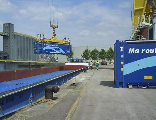 Vers un démonstrateur de transfert mutualisé de déchets par la Seine