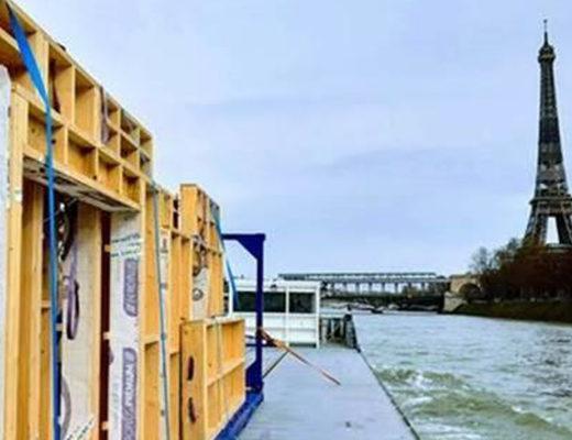 Un nouveau conteneur testé pour transporter le bois par voie d'eau